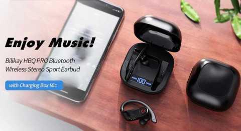 Bilikay HBQ PRO Bluetooth Earphone Gearbest Coupon Promo Code