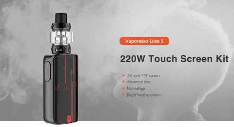 Vaporesso Luxe S - Vaporesso Luxe S Touch Screen Kit Gearbest Coupon Promo Code