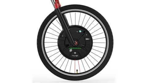 iMortor 3 0 - iMortor 3.0 Full Wireless Intelligence Bicycle Front Wheel Banggood Coupon Code [Czech Warehouse]