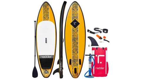 """redder Inflatable Stand Up Paddle Board Rouge - redder Inflatable Stand Up Paddle Board Rouge 9'0"""" Surf ISUP Amazon Coupon Promo Code"""