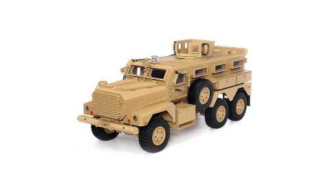 hg p602 1/12 6wd rc military truck