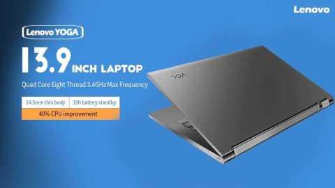Lenovo YOGA C930 - Lenovo YOGA C930 13.9 inch Laptop Gearbest Coupon Promo Code [i5-8250U UHD Graphics 620 8+256GB SSD]