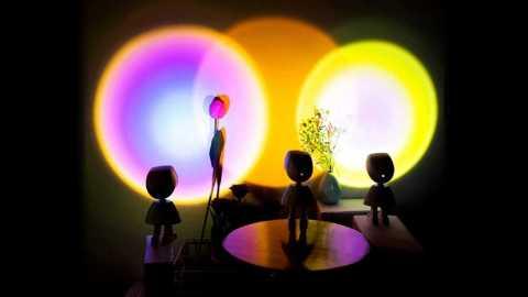 Sunset Rainbow Projector Atmosphere Led Night - Sunset Rainbow Projector Atmosphere Led Night Light Banggood Coupon Code
