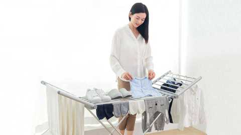 xiaomi thermostatic electric folding drying rack