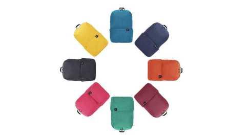 Xiaomi 10L Colorful Backpack Bag - Xiaomi 10L Colorful Backpack Bag Banggood Coupon Promo Code