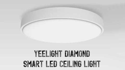 Yeelight Diamond LED Ceiling Light - Yeelight Diamond LED Ceiling Light Banggood Coupon Promo Code [Czech Warehouse]