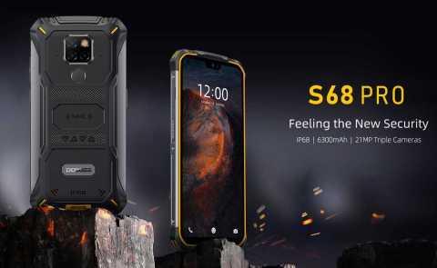 DOOGEE S68 Pro - DOOGEE S68 Pro Banggood Coupon Promo Code [6+128GB] [Spain Warehouse]