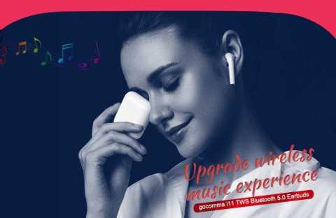 gocomma i11 tws bluetooth 5.0 earbuds