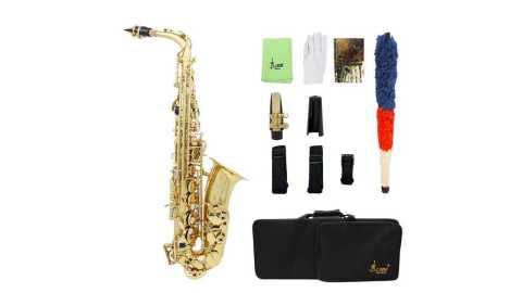 SLADE LD 896 E flat Brass Pipe Alto Saxophone - SLADE LD-896 E-flat Brass Pipe Alto Saxophone Banggood Coupon Promo Code