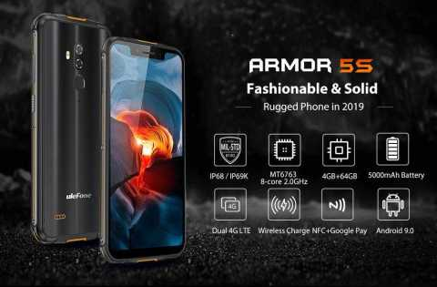 Ulefone Armor 5S - Ulefone Armor 5S Gearbest Coupon Promo Code [4+64GB]