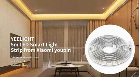Yeelight 5M smart LED strip light - Yeelight 5M smart LED Strip Light Banggood Coupon Promo Code [Czech Warehouse]
