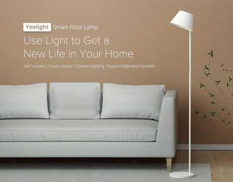 Yeelight YLLD01YL smart floor lamp - Yeelight YLLD01YL Smart LED Floor Lamp Gearbest Coupon Promo Code