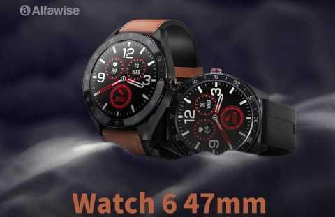 alfawise watch 6 47mm smart watch