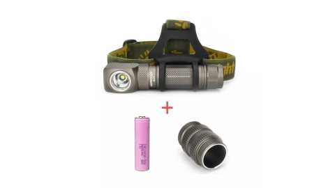Astrolux HL01 Headlight Flashlight + 30Q 3000mAh 18650 Battery