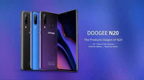 DOOGEE N20 - DOOGEE N20 Banggood Coupon Promo Code [4+64GB]
