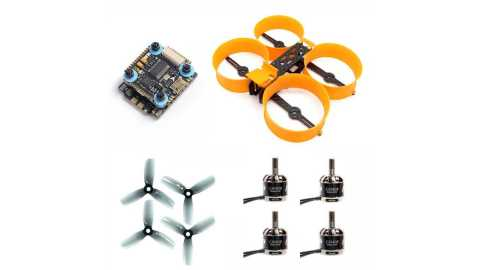 Donut 3 Inch Frame - Donut 3 Inch Frame+MAMBA F405+GEPRC SPEEDX GR1408+HQ Prop Duct 3 Cinewhoop Propeller Combo Banggood Coupon Promo Code