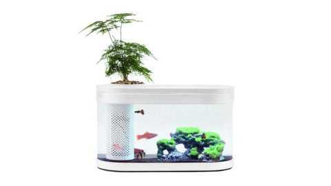 Geometry Fish Tank - Xiaomi Geometry Aquaponics Ecosystem Fish Tank Banggood Coupon Promo Code