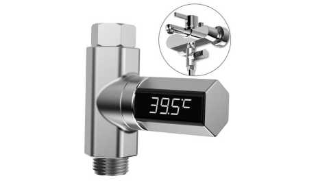 Loskii LW 103 Water Shower Thermometer - Loskii LW-103 Water Shower Thermometer Banggood Coupon Promo Code