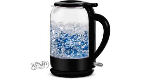 OVENTE Electric Glass Hot Water Kettle - OVENTE KG516B Electric Glass Hot Water Kettle Amazon Coupon Promo Code