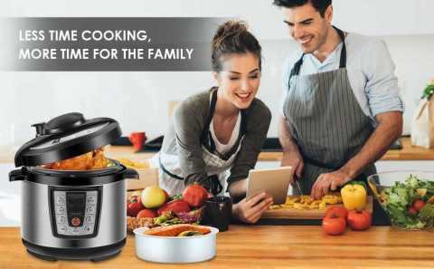 REDMOND 6 in 1 Electric Pressure Cooker - REDMOND 6-in-1 Electric Pressure Cooker Amazon Coupon Promo Code