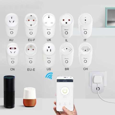 SONOFF S26 - SONOFF S26 Smart WiFi Socket Banggood Coupon Promo Code [CN/US/UK/AU/DE/FR/BR/CH/IL/IT Plug]