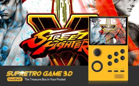 supretro game 3d handheld game console