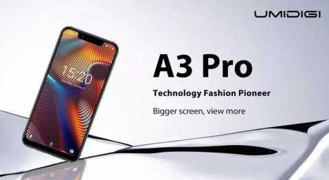 UMIDIGI A3 Pro - UMIDIGI A3 Pro Banggood Coupon Promo Code [3+32GB]