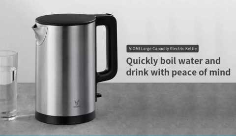 xiaomi viomi ym-k1506 1.5l 1800w electric kettle