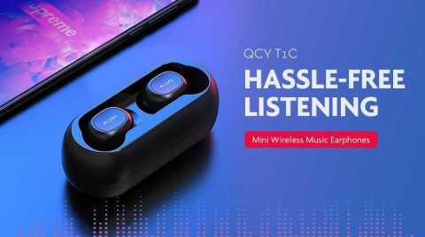 xiaomi qcy t1c tws bluetooth 5.0 earphone