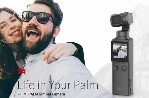 Xiaomi FIMI PALM Gimbal Camera - Xiaomi FIMI PALM Gimbal Camera Gearbest Coupon Promo Code