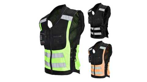 GHOST RACING Motorcycle Reflective Vest - GHOST RACING Motorcycle Reflective Vest Jacket Banggood Coupon Promo Code