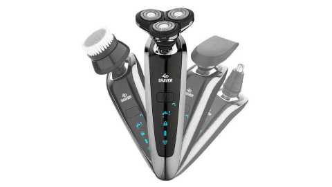 genpai 8500 waterproof electric shaver