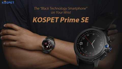 kospet prime se smartwatch phone