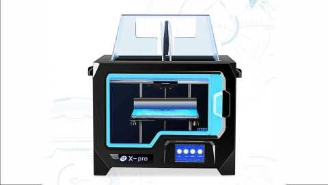 QIDI TECH X Pro - QIDI TECH X-Pro Dual 3D Printer with WiFi Gearbest Coupon Promo Code [EU Warehouse]