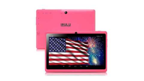 iRULU Tablet 7 inch pink - iRULU 7 inch Tablet Amazon Coupon Promo Code [Pink]
