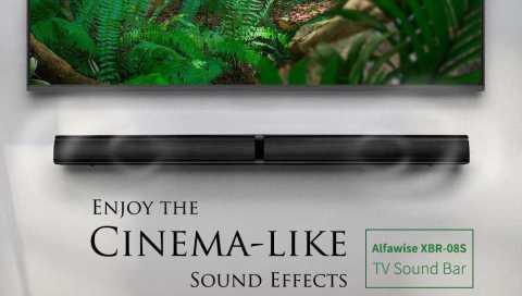 alfawise xbr-08s tv sound bar