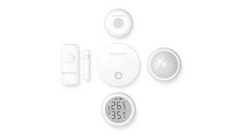 BlitzWolf BW IS - BlitzWolf BW-IS 5 IN 1 Smart Home Security Alarm System Set Banggood Coupon Promo Code