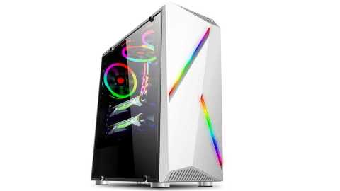 computer pc case gaming tower color changing