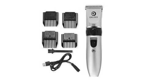 Digoo BB T1 USB Ceramic R Blade Hair Trimmer - Digoo BB-T1 USB Ceramic R-Blade Hair Trimmer Banggood Coupon Promo Code [UK Warehouse]