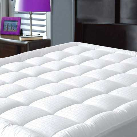 JURLYNE Pillowtop Full XL Mattress Pad Cover - JURLYNE Pillowtop Mattress Pad Cover Amazon Coupon Promo Code