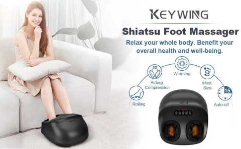 KEYWING Foot Massager - KEYWING Shiatsu Foot Massager Amazon Coupon Promo Code