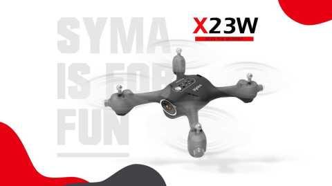 syma x23w rc drone