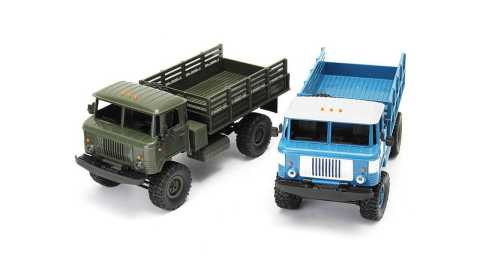 wpl wplb-24 1/16 rtr 4wd rc military truck
