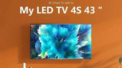 xiaomi mi tv 4s 43″ 4k smart tv