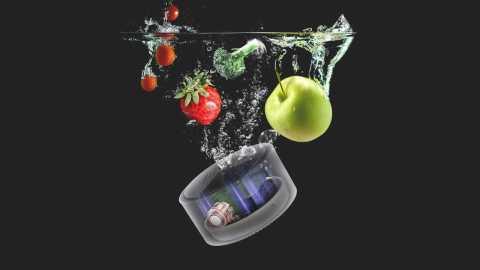 xiaomi youban ups-01 smart fruit vegetable purifier