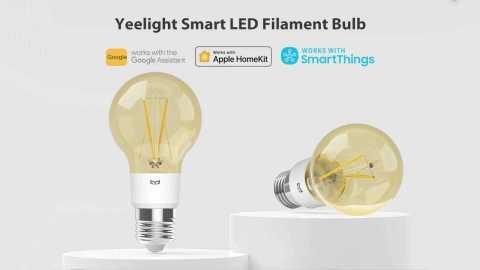 Yeelight YLDP22YL Smart LED Filament Bulb - Yeelight YLDP22YL Smart LED Filament Bulb Banggood Coupon Promo Code