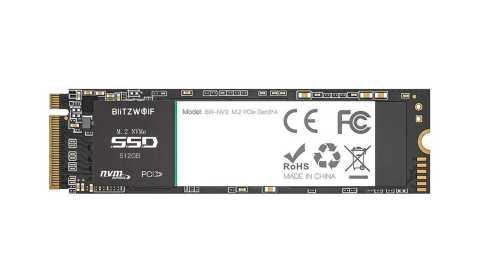 BW NV3 ssd - BlitzWolf BW-NV3 PCIe Gen3*4 NVMe1.3 SSD 512GB Banggood Coupon Promo Code