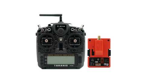frsky taranis x9d plus se with r9m long range transmitter module