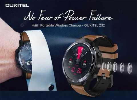 oukitel z32 4g smartwatch phone
