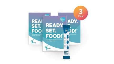 Ready Set Food Early Allergen Maintenance for Babies - Ready, Set, Food! Early Allergen Maintenance for Babies Amazon Coupon Promo Code [Egg & Milk: Stage 2, 3 Months]